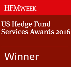 HFMWeek US Hedge Fund Services Awards 2016 winner