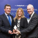 Gavan McGuire and Karen Malone at The Hedge Fund Journal Awards 2016