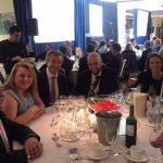 Ronan Daly along with Centaur clients at the HFMWeek European Services Awards 2016
