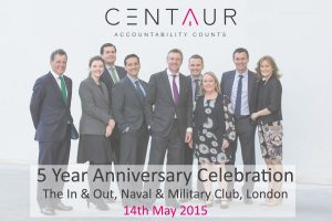 Senior Management outside In & Out Club in London