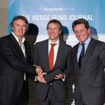 Ronan Daly and Gavan McGuire with Rod Sparks at The Hedge Fund Journal Awards 2014