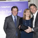 Gavan McGuire and Karen Malone at the The Hedge Fund Journal Awards 2015