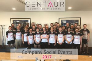 Centaur company social events 2017
