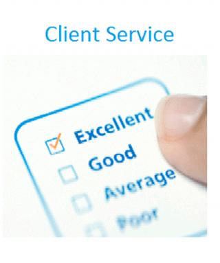Excellent Client Service