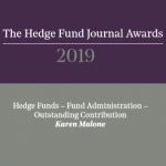 HFJ Awards 2019 Karen Malone Outstanding Contribution