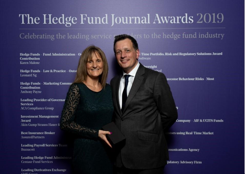 Hedge Fund Administrator Award