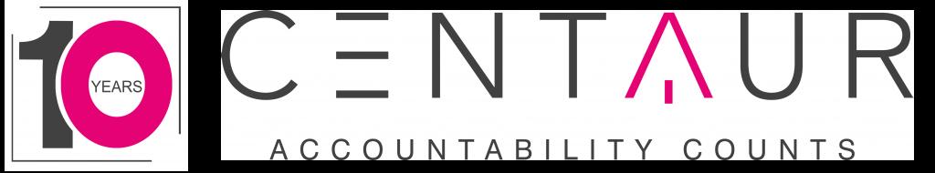 Centuar 10 year logo