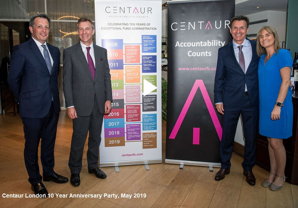 Centaur London 10 Year Anniversary