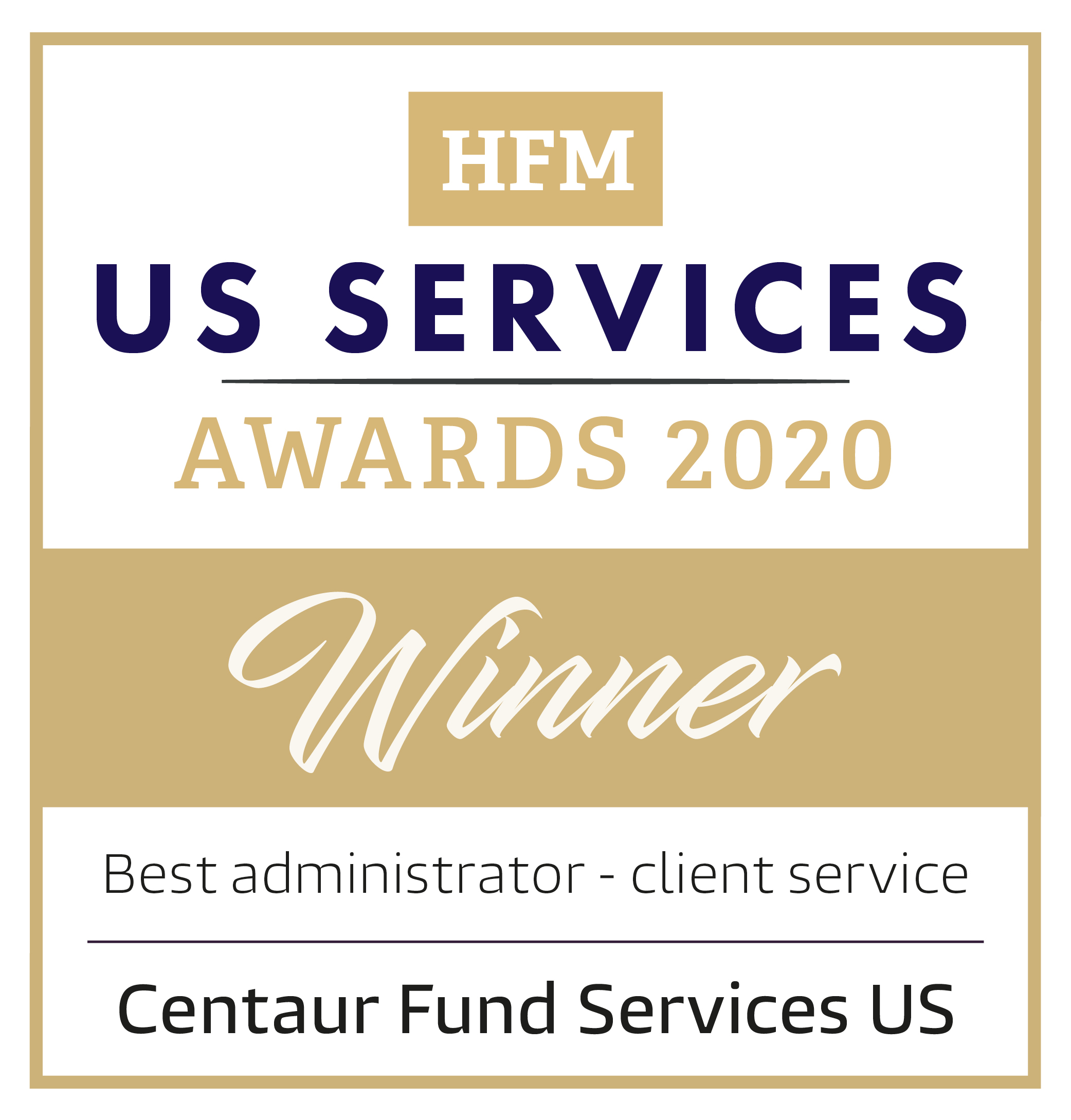 HFM US Services Awards 2020